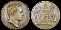 World Coins - 1809 France - Napoleon - Opening of the Canal de l'Ourcq by Jean-Bertrand Andrieu and Dominique-Vivant Denon
