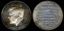 Us Coins - 1963 John F. Kennedy Memorial Medal (Mexican) Silver