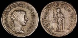 Ancient Coins - Gordian III Antoninianus - SECVRITAS PERPETVA - Rome Mint