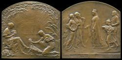 World Coins - 1913  Belgium - The 1913 Internationa Universal Exposition in Gent by Godefroid Devreese