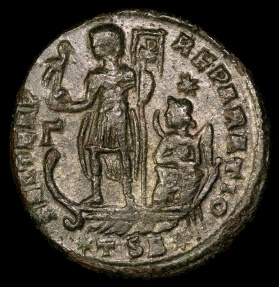 Ancient Coins - Constantius II Centenionalis - FEL TEMP REPARATIO - Thessalonica Mint