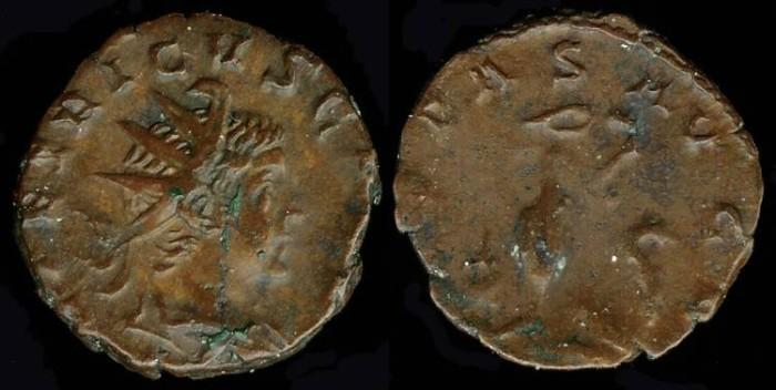 Ancient Coins - Tetricus II Antoninianus - PIETAS AVGG - Cologne Mint