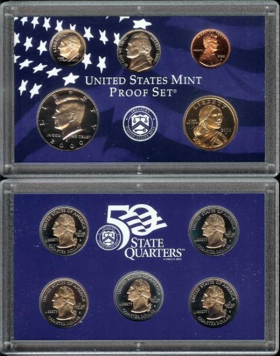 US Coins - 2000 US Proof Set