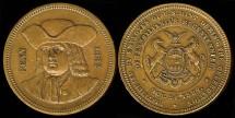Us Coins - 1882 Pennsylvania Bicentennial Celebration