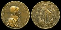 World Coins - 1634 France - Armand-Jean, Cardinal duc de Richelieu