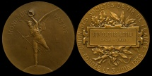 World Coins - 1921  France - Lyon 24th Annual National Shooting Competition by Charles Marey and Pierre-Charles Lenoir
