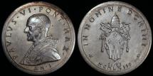 World Coins - 1963 Vatican - Pope Paul VI - His Election to the Papacy by Pietro Celestino Giampaoli - Silver