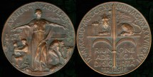 World Coins - 1938 Italy – Reunion of Adriatic Insurance Companies