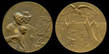 World Coins - 1918  France - Devastation of the Somme by P. Anstart and Albert Auguste Roze