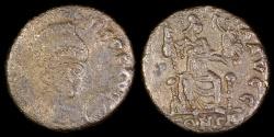 Ancient Coins - Arcadius Ae4 - CONCORDIA AVGG - Constantinople Mint