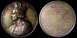 "World Coins - 1837 France - Philip III, ""The Bold"", Capetian King of France (1270-1285) by Armand-Auguste Caqué #45"