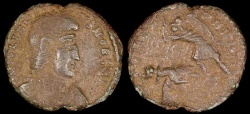 Ancient Coins - Julian II Ae3 - FEL TEMP REPARATIO - Siscia Mint