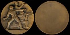 World Coins - 1945 Austria: Military Sports Award Medal