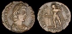 Ancient Coins - Constantius II Ae2 - SPES REI PUBLICE - Cyzicus Mint