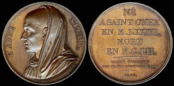 World Coins - 1820 France - L'Abbe Suger