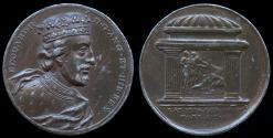 """World Coins - 1731 Great Britain – King Edward II by Jean Dassier (From his series """"Kings and Queens of England"""")"""