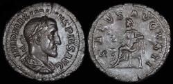 Ancient Coins - Maximinus I Denarius - SALVS AVGVSTI - Rome Mint