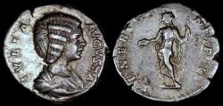 Ancient Coins - Julia Domna Denarius - VENERI GENETRICI - Rome Mint