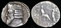 Ancient Coins - Vardanes I Tetradrachm (40-45 AD) - Seleucia Mint
