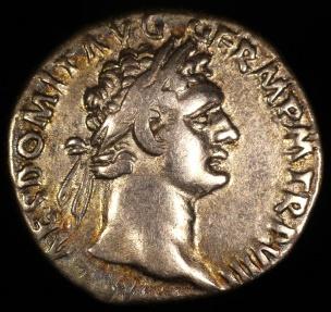 Ancient Coins - Domitian Denarius - IMP XIX COS XIIII CENS P P P - Rome Mint