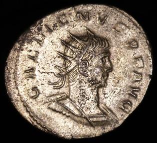 Ancient Coins - Gallienus Antoninianus - VICTORIA AVG - Asian Mint