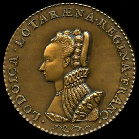 World Coins - 1579 France – Queen Louise of Lorraine by Claude de Hery