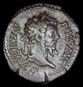 Ancient Coins - Septimius Severus Denarius - INDVLGENTIA AVGG IN CARTH - Rome Mint