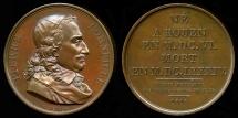 World Coins - 1816  France - Pierre Corneille by Jacques-Édouard Gatteaux for Galerie Metallique des Grands Hommes Francais