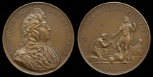 World Coins - 1684  France - Peace with Algiers (subjugation of the Algerian pirates by the French fleet) by Joseph Roettiers and Michel Molart