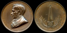 World Coins - 1862  France - Freemasonry, Jean-Pons-Guillaume Viennet was a French politician and  Grand Master of Masons of the Scottish Rite in France, by Alphée Dubois