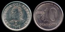 "World Coins - 1978 Paraguay 10 Guaranies - FAO ""Cow"" - BU"