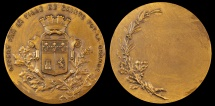World Coins - 1890 France - Sainte Foy La Grande Shooting Competition Award Medal