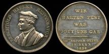 World Coins - 1828 Switzerland -  Berchtold Haller - German Protestant Reformer (3rd Centennial of the 1528 Reformation in Bern)