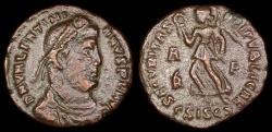 Ancient Coins - Valentinian I Ae3 - SECVRITAS REIPVBLICAE - Siscia Mint