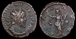 Ancient Coins - Victorinus Antoninianus - PAX AVG - Trier Mint