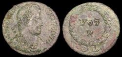 Ancient Coins - Jovian  Ae3 - VOT V - Siscia Mint