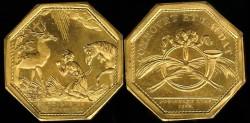 World Coins - 1786 France - Jeton - Saint-Eustache the Patron Saint of Hunters