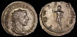 Ancient Coins - Gordian III Antoninianus - IOVIS STATOR - Rome Mint