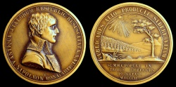 World Coins - 1802 France - Napoleon - Ancient Republics of Italy Revived by Gerolamo Vassallo