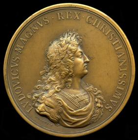 World Coins - 1667 France – The First Flanders Campaign by Michel Molart and Nicolas Guy Antoine Brenet