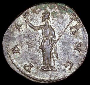 Ancient Coins - Probus Antoninianus - PAX AVG - Lugdunum Mint