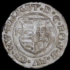 World Coins - 1614 KB Hungary 1 Denar - Mathias II - AU Silver