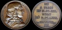 World Coins - 1828 France - Francois De La Rochefoucauld by Francois-Augustin Caunois