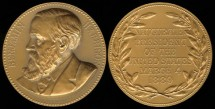 1889 Benjamin Harrison - US Mint Medal