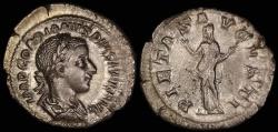 Ancient Coins - Gordian III Denarius - PIETAS AVGVSTI - Rome Mint