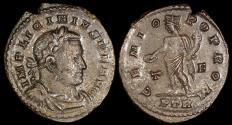 Ancient Coins - Licinius I Follis - GENIO POP ROM - Trier Mint