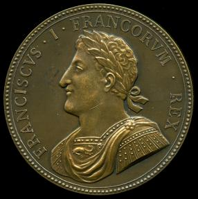World Coins - 1515 France - François I Defeat of the Swiss and Venetians at the Battle of Marignan by Alexandre Olivier and Pierre Regnier