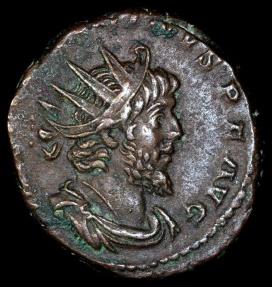 Ancient Coins - Victorinus Antoninianus - PAX AVG - Cologne Mint