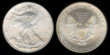 Us Coins - 2004 Silver Eagle BU