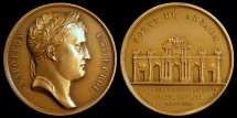 World Coins - 1808 France - Napoleon - The Entry Into Madrid by Dominique-Vivant Denon and Nicolas Guy Antoine Brenet